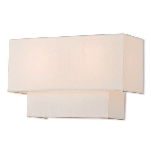 Livex Lighting Claremont 13 Inch Off White Wall Sconce