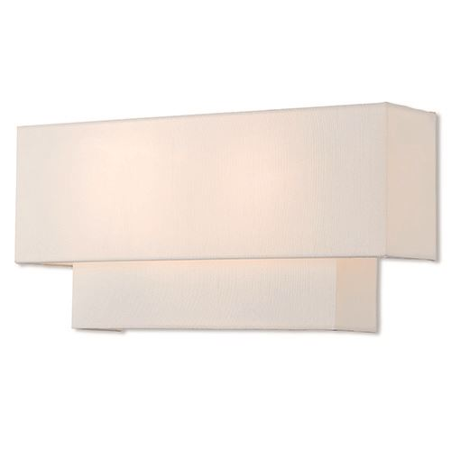 Livex Lighting Claremont 16 Inch Off White Wall Sconce