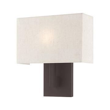 Livex Lighting Hayworth 11 Inch Oatmeal Wall Sconce