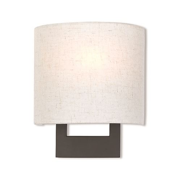 Livex Lighting Hayworth 8 Inch Oatmeal Wall Sconce