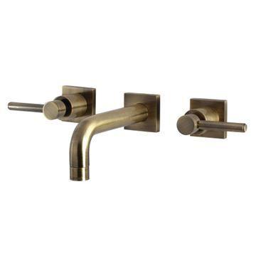 Restorers Concord KS612XDL-P Wall Mount Bathroom Faucet