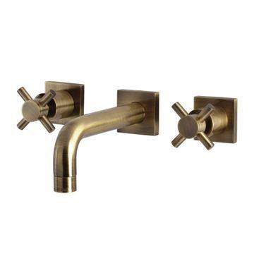 Restorers Concord KS612XDX-P Wall Mount Bathroom Faucet