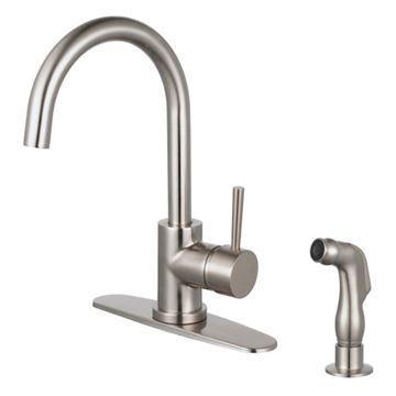 Restorers Concord LS857XDLSP-P One Handle Kitchen Faucet