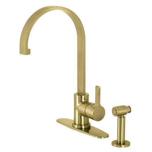 Restorers Continental LS871XCTLBS-P One Handle Kitchen Faucet