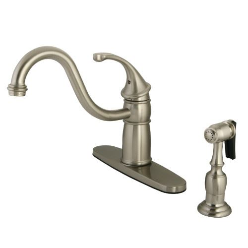Restorers Georgian KB157XGLBS-P One Handle Kitchen Faucet