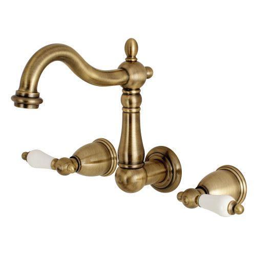 Restorers Heritage KS125XPL-P Wall Mount Bathroom Faucet