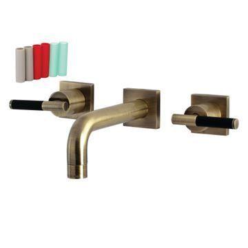 Restorers Kaiser KS612XCKL-P Wall Mount Bathroom Faucet