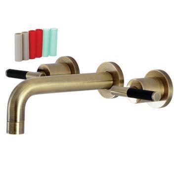 Restorers Kaiser KS812XCKL-P Wall Mount Bathroom Faucet