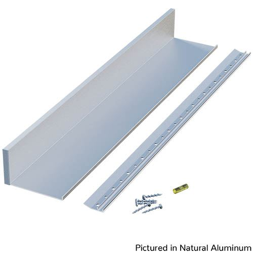 Designs of Distinction Aluminum Slimline Channel Shelf