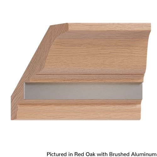Designs of Distinction Crown Molding with Plain Insert