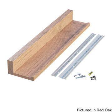 Designs of Distinction Wooden Slimline Channel Shelf