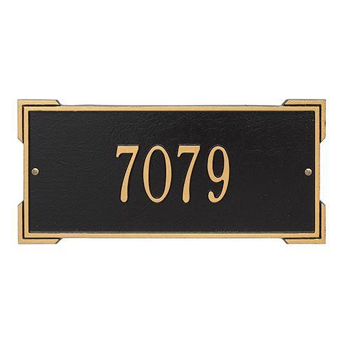 Whitehall Roanoke Personalized Address Plaque