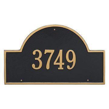 Whitehall Arch Marker Estate Personalized Plaque