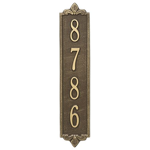 Whitehall Lyon Vertical Personalized Plaque