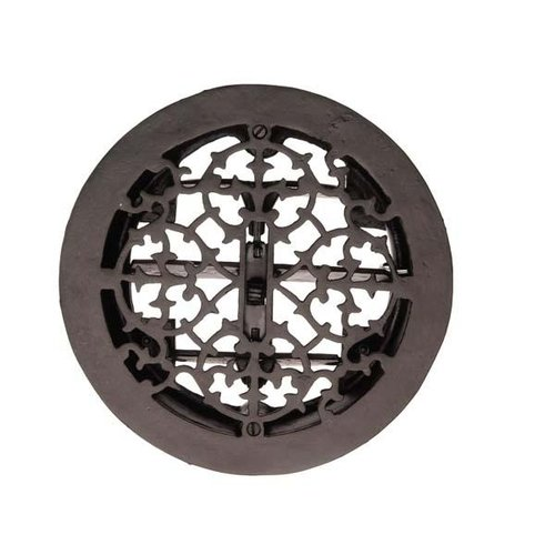 Rers Round Cast Iron Floor Register
