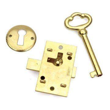 Restorers Classic Brass Non Mortise Lock