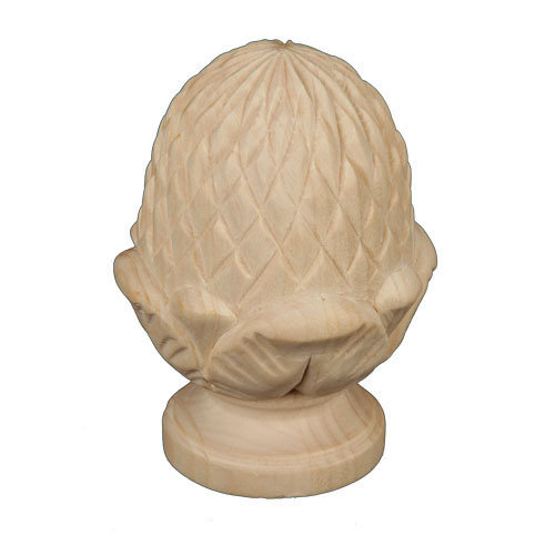 Decorative Wooden Mouldings. Legacy Signature Full Pineapple Finial Moldings  Trim Unfinished decorative moldings and trim
